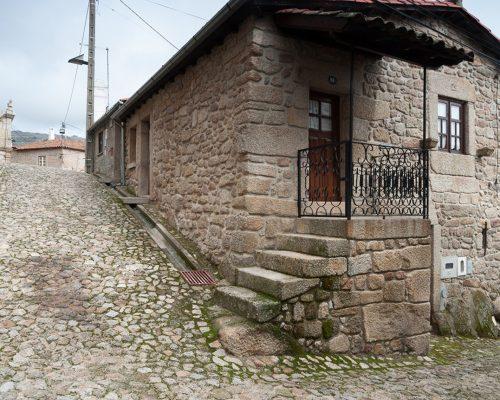 Maison typique de la région de Beira