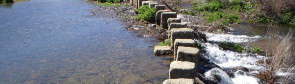 Poldras sobre o rio Pônsul