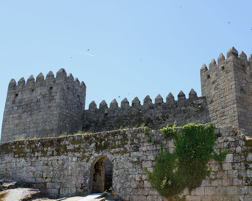 Town walls and gates