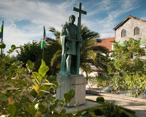 Statue von Pedro Álvares Cabral
