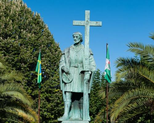 Estatua Pedro Álvares Cabral