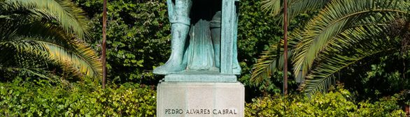 Statue de Pedro Alvares Cabral