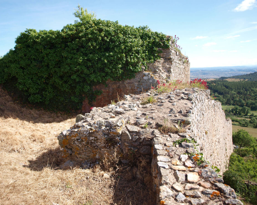 Viereckiger Festungsturm