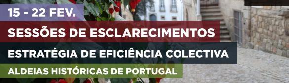 Sessões de Esclarecimentos – Estratégia de Eficiência Colectiva