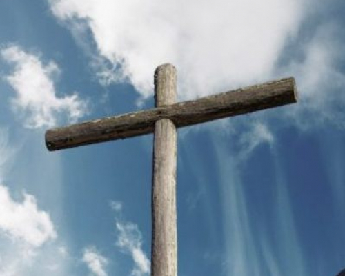 Cruz de madeira de Pau Brasil
