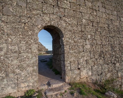 False Gate or Traitor's Gate and perimeter Tower