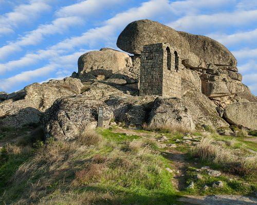 Ruínas do povoado da freguesia de S. Miguel