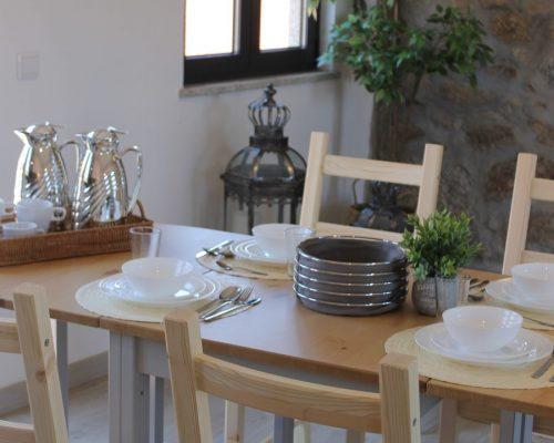 sala de pequenos almoços e refeições
